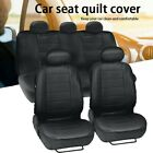 Car Seat Covers Protector Front+Rear Full Set Universal 5-Sits Car Truck Van SUV