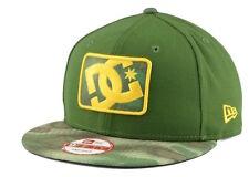 "60% OFF! DC Shoes ""BuzzCut"" Snapback Cap (Olive/Camo) NEW Unisex Adjustable Hat"