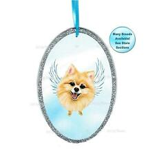 Pomeranian Angel Ornament Pomeranian Dog With Wings Memorial Christmas Ornament