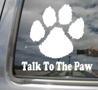 Talk Classy Act Nasty car window Decal Sticker funny office quote for cars