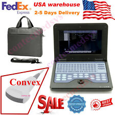 Portable laptop machine, Digital Ultrasound scanner, 3.5M Convex probe CMS600P2