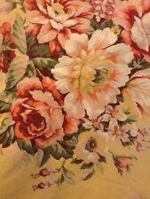 "Beautiful Ralph Lauren Yellow Floral 2 88"" X 64""Twin Top Sheets"