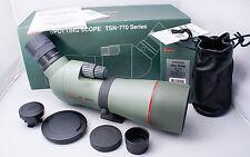 Kowa Prominar TSN-773 Angle Spotting Scope, TE-17W 30x Eyepiece, Case, BOXED