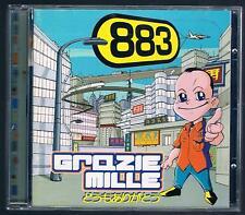883 MAX PEZZALI GRAZIE MILLE BOOKLET OCCHIALINI 3D CD F.C.