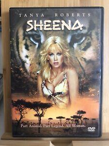 SHEENA Tanya Roberts 1984 DVD Region 1 Rare