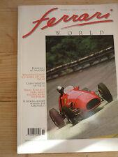 Ferrari World Magazine no.15 Formula 1 643 500 Sergio Scaglietti Schedoni