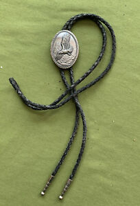 Bolo Tie Flying Eagle