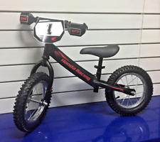 "NEW 2018 MATTE BLACK GENUINE HONDA BALANCE BIKE 12"" INCH WHEEL ADJUSTABLE HEIGHT"