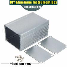 Aluminum PCB Instrument Enclosure Case Electronic Project Box DIY 80*50*40mm