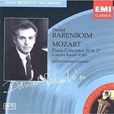 MOZART Klavierkonzerte 20 & 27 Daniel Barenboim English Chamber Orchestra OVP