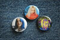"""Billie Eilish music Pin Pinback Buttons 1"""" jacket Badge When the Party's Over"""