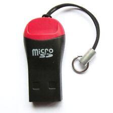 USB 2.0 Micro SD Card Reader Adapter Stick Kartenleser Mini Speicherkarten Leser