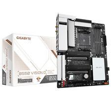 Gigabyte B550 Vision D AMD Sockel AM4, ATX, Thunderbolt 3,  Wi-Fi 6, Bluetooth