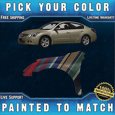 NEW Painted To Match Drivers Front Left Fender For 2007-2012 Nissan Altima Sedan