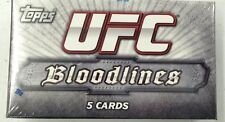 2012 UFC Bloodlines Factory Sealed mini-Box (Pack) with Auto or Relic