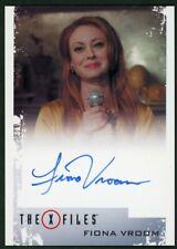 2018 X-Files Seasons 10 & 11 Fiona Vroom (Barbara Beaumont) Autograph