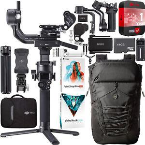 DJI RSC 2 Pro Combo Gimbal 3Axis Stabilizer for DSLR & Mirrorless Cameras Bundle