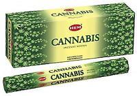 Original Hem Cannabis Incense 120 Sticks - Bulk Pack of 6 x 20 Stick