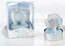 Elephant Shaped Candle - Little Peanut (Blue) (Set of 4)