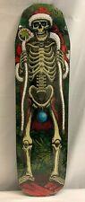 Rare 2014 Powell Peralta Skeleton Santa Claus Flasher Maple Skateboard Deck