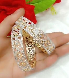 Elegant Platinum Plated Flower Carving Women Fantasy Fashion Gift Jewelry  Love