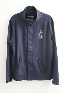 JACK & JONES Mens Tracksuit Top Jacket Navy Blue Size XL Extra Large