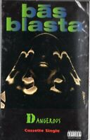 Bas Blasta Dangerous Rap Hiphop Cassette Tape Single New Sealed