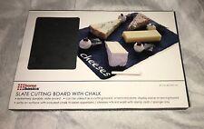 Home Basics Black Slate Cutting Board Black!! New!!