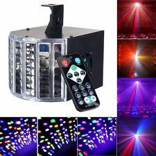 Sound Active 30W DMX512 RGBW Led Stage Strobe Light DJ KTV Projector Disco Party