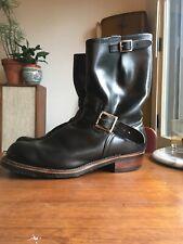 Vintage Red Wing Heritage 2268 Engineer Boots Custom Heel Stack