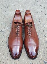 Church's Custom Grade Brown Leather Cap-Toe Oxfords sz 13 B US MENS