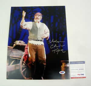 Chaim Topol Fiddler On The Roof Signed Autograph 11x14 Photo PSA/DNA COA
