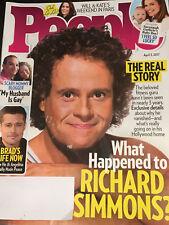 PEOPLE MAGAZINE April 3, 2017 ROYAL FAMILY Will & Kate RICHARD SIMMONS Brad Pitt