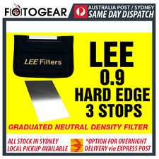 LEE Filters 100 x 150mm 0.9 Hard-Edge Graduated Neutral Density Filter AUSPOST