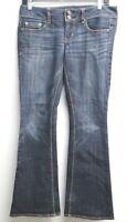 Women's American Eagle Artist Jeans Stretch Medium Wash Size 4 Short