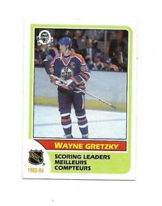 1986-87 OPC:#260 Wayne Gretzky (NHL Scoring Leader)