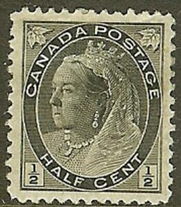 Canada 1898 Victoria Numeral Issue, Sc #74 Mint, VF, H/OG - dw7.18