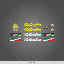 01441 Bottecchia Bicycle Stickers - Decals - Transfers - Yellow/White