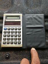 Vintage Texas Instruments TI-1766 Solar Pocket Calculator w/ Case