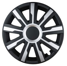 """4x15"""" Wheel trims wheel covers for Ford Transit Connect 15"""" black-silver"""