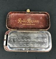 Vintage ROLLS RAZOR Self Sharpening Safety Razor IMPERIAL MODEL With Case