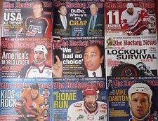 (20) Issues - The Hockey News Volume 58 - 2004-2005 - Crosby Yzerman Thornton