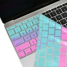 """Hot Blue&Purple Faded Ombre Keyboard Cover Skin for Macbook 12""""with Retina A1534"""