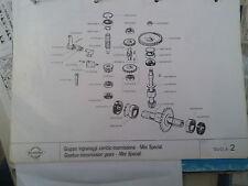 Gear Scor.z = 21/17 Tiller Klein Mini Special BRUMI Brumital 212101002