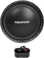 "Memphis Audio 500w SRX1244 12"" SRX Car Subwoofer Sub+Wireless EarBuds"