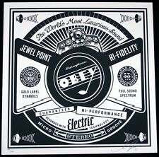 SHEPARD FAIREY ♦ 50 SHADES RECORD ♦ serigraphie SIGNIERT /200 ♦ OBEY GIANT