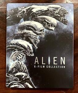 ALIEN 6 MOVIE COLLECTION Steelbook VERY RARE Bluray 6 Discs REG.B MINT