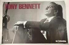 Tony BENNETT: Signed Columbia Records promotional poster