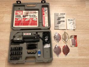 Porter Cable 444 Profile Sander Kit, 444 Variable Speed, Detail Molding Set