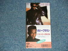 """BOBBY BROWN Japan 1988 10P3-6037 Sealed Tall 3"""" CD Single DON'T BE CRUEL"""